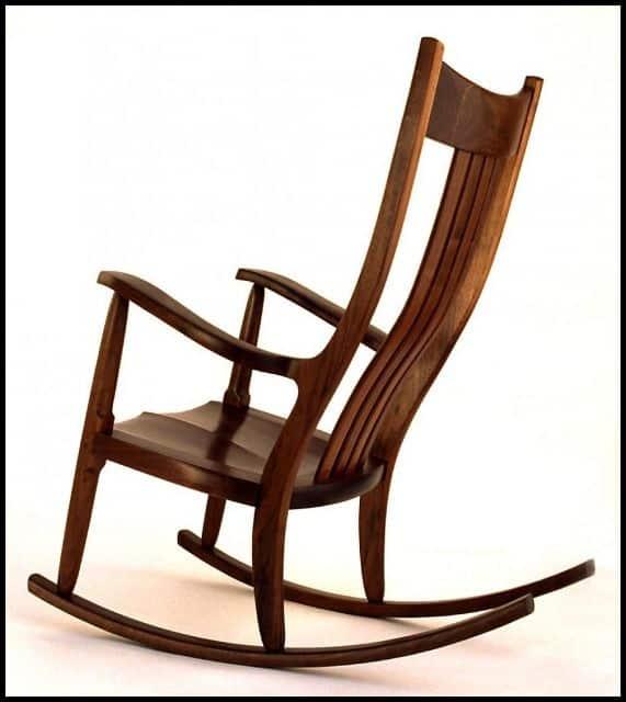 Ahşap Sallanan Sandalye Modelleri