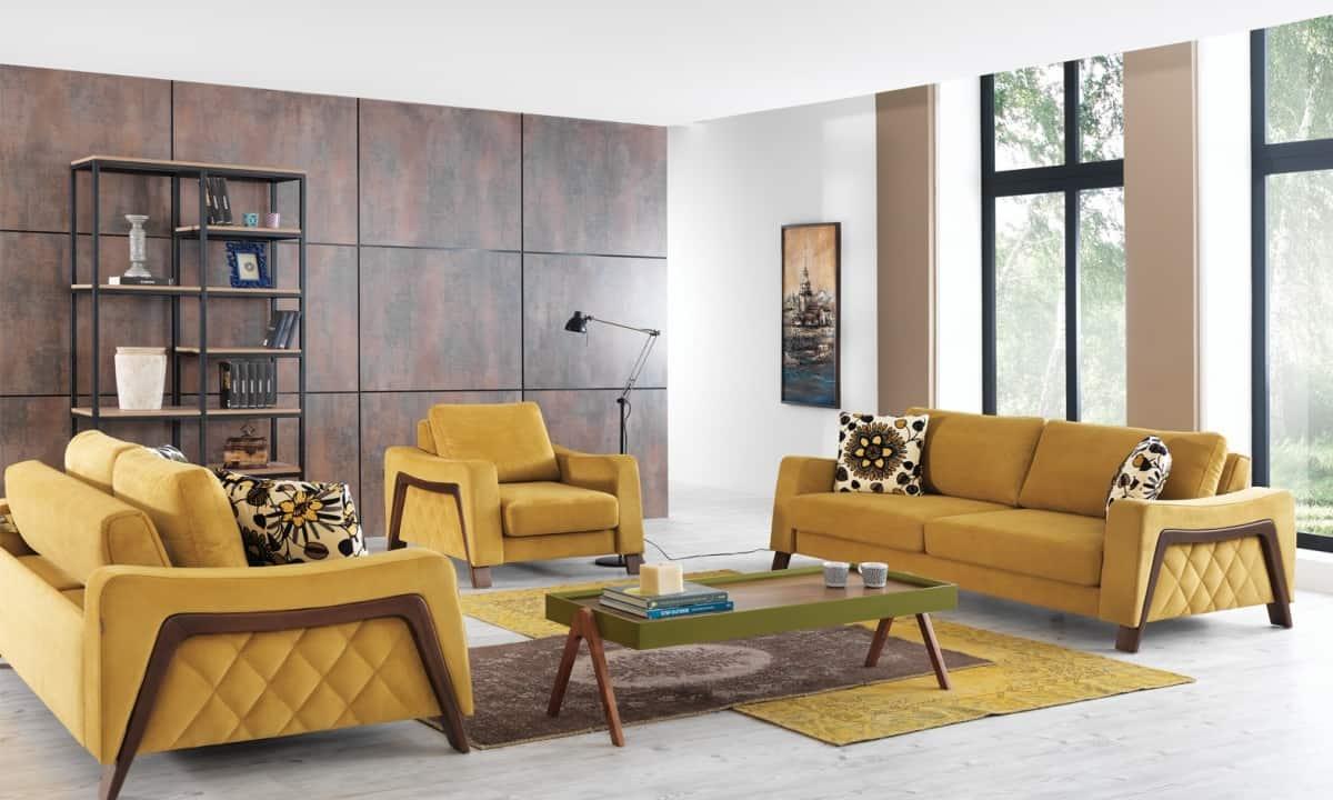sarı koltuk modelleri