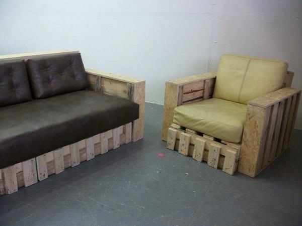Palet koltuk yapımları