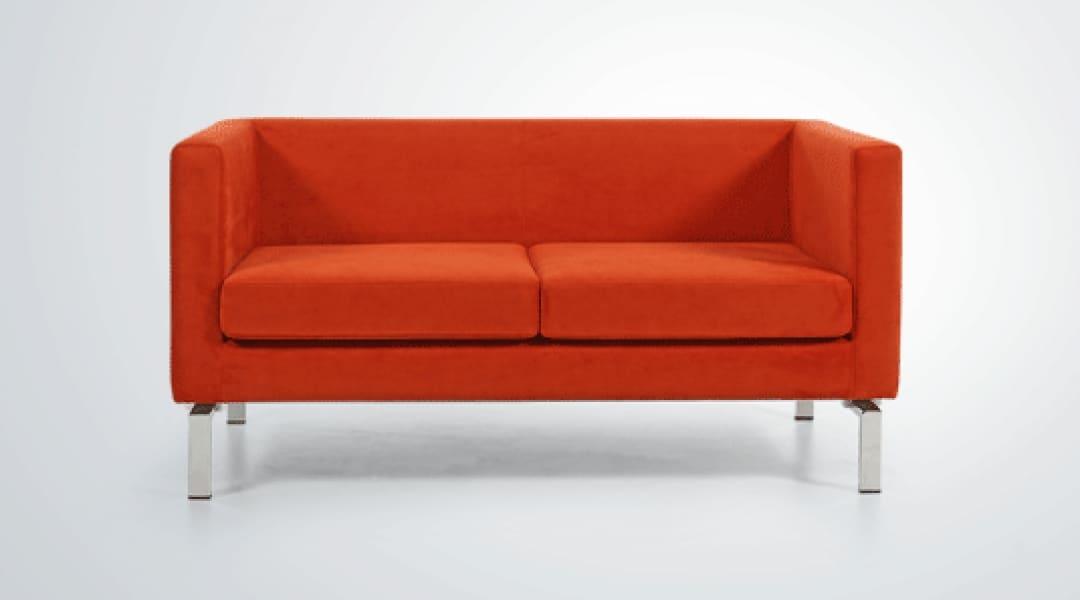 turuncu ikili kanepe