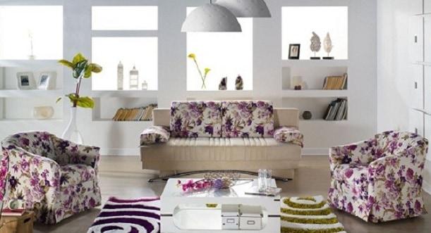 çiçek desenli koltuk takımı modelleri ve fiyatları