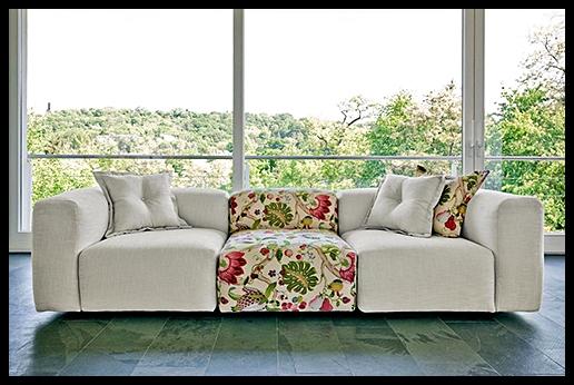 Çiçekli spor kanepe