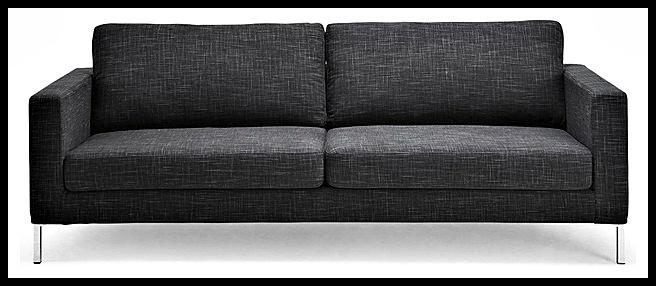 Gri kumaşlı kanepe modelleri