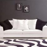 Beyaz koltuk kanepe