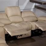 Deri üçlü koltuk modelleri
