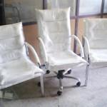 Deri ofis koltukları