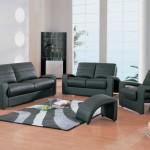 Yeni dizayn siyah deri ofis koltukları