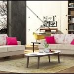 Renkli oturma grubu örnekleri