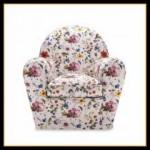 Çiçekli berjer koltuk modelleri