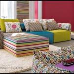 Renkli koltuk takımı modelleri