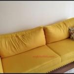 Sarı koltuk döşeme modelleri