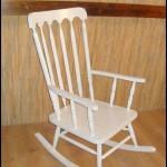 Ahşap sallanan sandalye i̇malatı