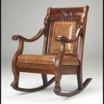 Modern ahşap sallanan sandalye modelleri