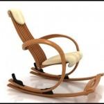 Rahat ahşap sallanan sandalye modelleri