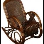 Şık ahşap sallanan sandalye modelleri