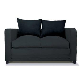siyah ikili kanepe