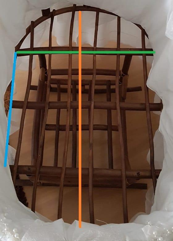 A1 Özel Ölçü Oval Bebek Yatağı