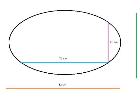 Oval Bebek Yatağı 43×82(26×71)