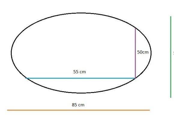 Oval Bebek Yatağı 85×55 (55×50)
